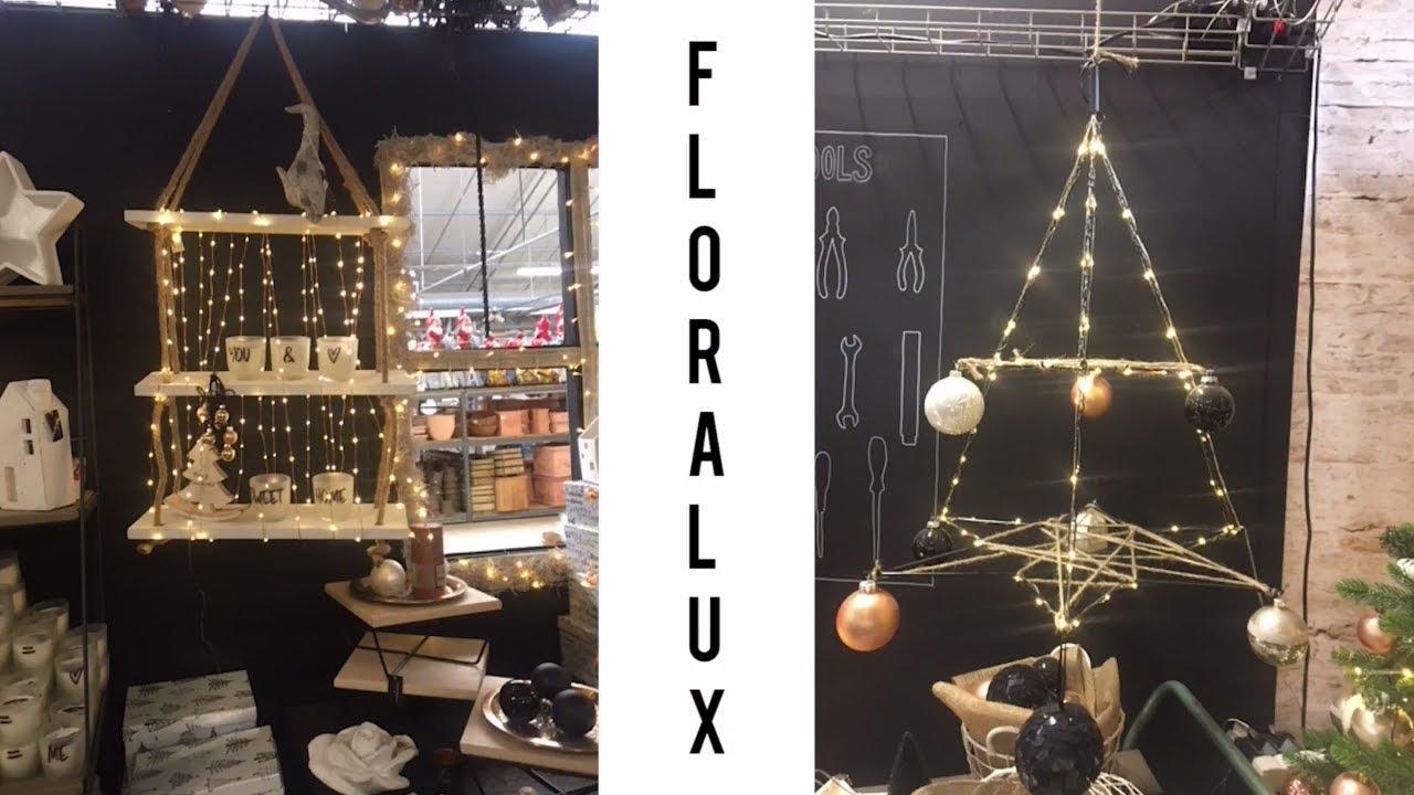 floralux decoration noel 2018 Décoration noel  Visite Floralux magasin décoration et sapin de  floralux decoration noel 2018