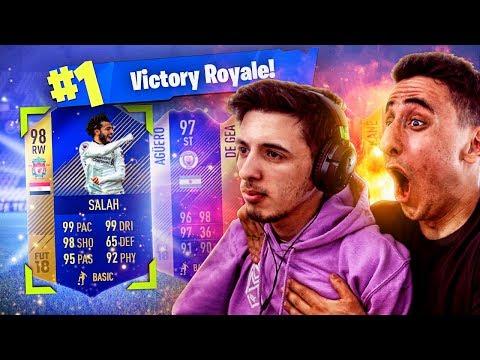 1 FORTNITE WIN = 98 RATED TEAM OF THE SEASON!!! (Fortnite FIFA)