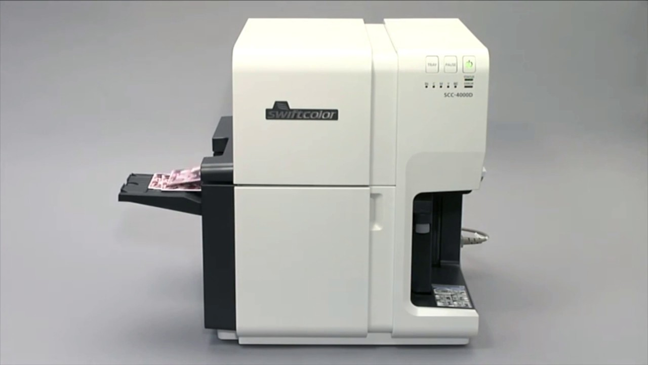Oversized Card Printer for Event ID Badges Large Credentials from  SwiftColor & AdvantIDge
