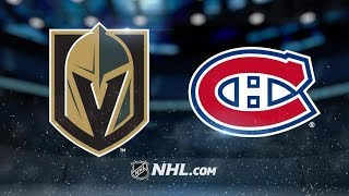 Vegas Golden Knights vs Montreal Canadiens – Nov. 10, 2018 | Game Highlights | NHL 2018