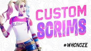 🔴 (NA EAST) CUSTOM MATCHMAKING SCRIMS! SOLOS,DUOS,SQUADS! FORTNITE LIVE  PS4,XBOX,PC,SWITCH,MOBILE