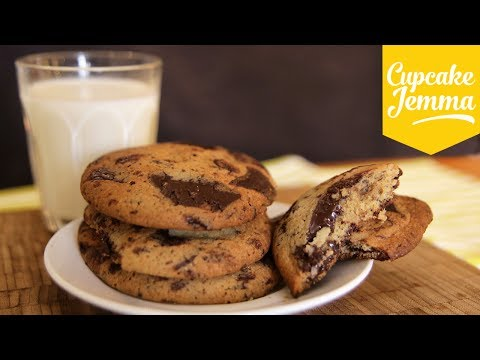Get The Best Soft Chocolate Chip Cookies | Cupcake Jemma Snapshots