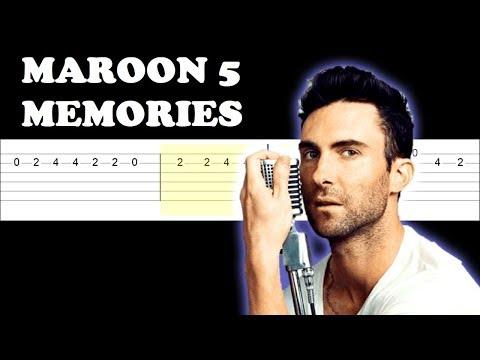 maroon-5---memories-(easy-guitar-tabs-tutorial)