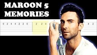 Baixar Maroon 5 - Memories (Easy Guitar Tabs Tutorial)