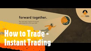 How to Trade - Instant Trade at Artis Turba Exchange