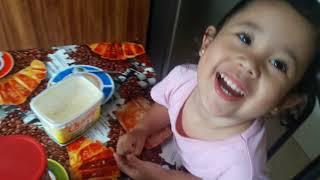 #funny #kids #play Fazendo chocolate com a mamãe! PARTE 1