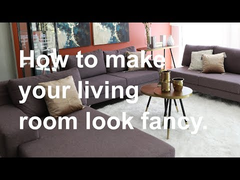 Tips & Tricks: Make Your Living Room Look Fancy | MF Home TV