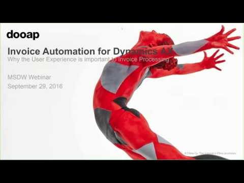 Invoice Automation for Microsoft Dynamics AX: Why User Exper