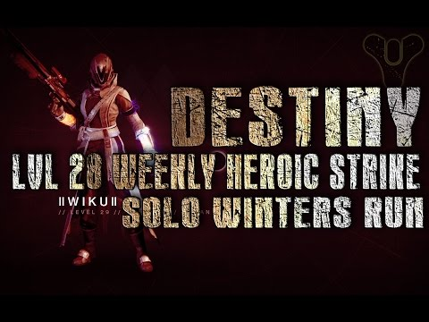 Level 28 Winters Run Solo, Weekly Heroic Strike (Cheese Tactic)