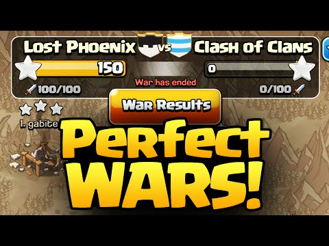 Clash of Clans ♦ The PERFECT Formula for PERFECT Wars? ♦ CoC ♦