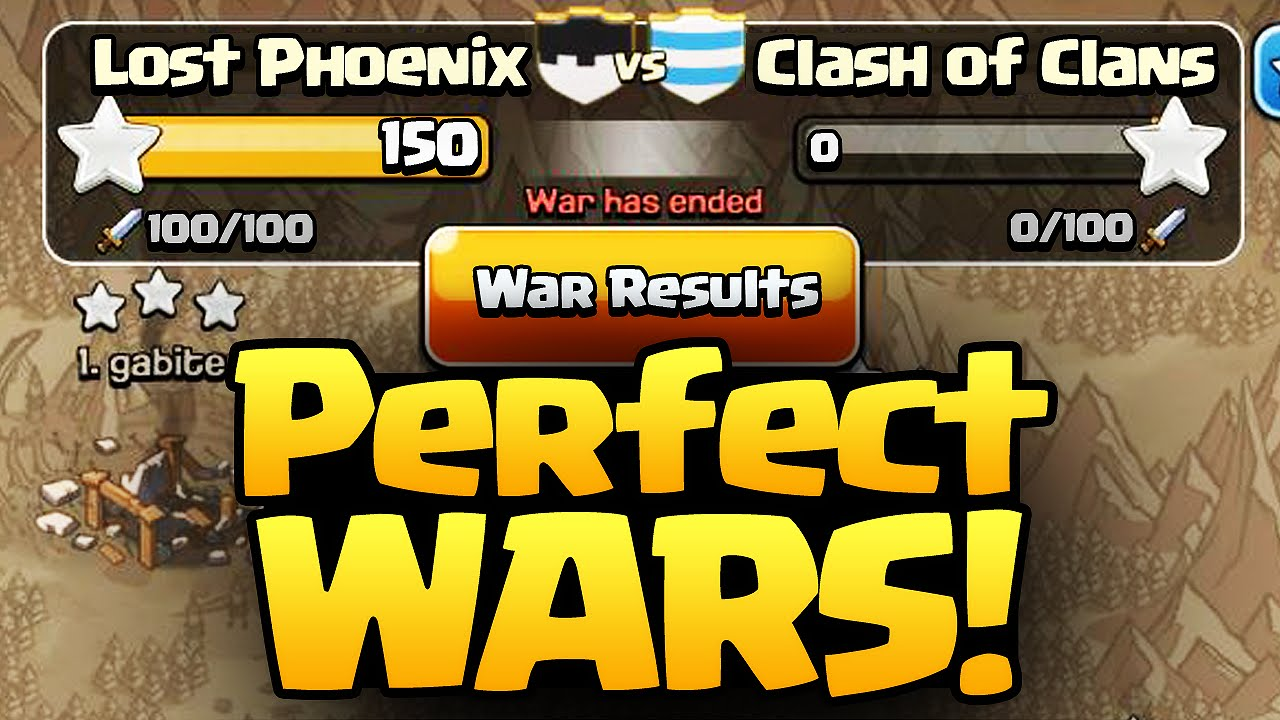 Clash Of Clans  E  A The Perfect Formula For Perfect Wars  E  A Coc  E  A Youtube
