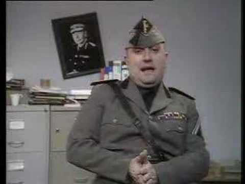 Alexei Sayle as Benito Mussolini