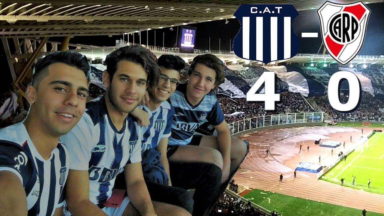 ||REACCIONES|| TALLERES 4 VS RIVER 0|| FIESTA DE TALLERES|| SUPERLIGA ARGENTINA FECHA 7||