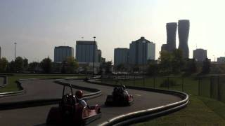 2011 Indy Go-Kart Challenge for Huntingtons Disease at Playdium Mississauga.mov