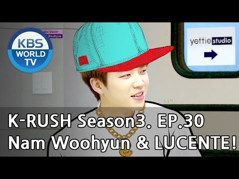 Today's GUEST : Nam Woohyun & LUCENTE! [KBS World Idol Show K-RUSH3 2018.10.05]