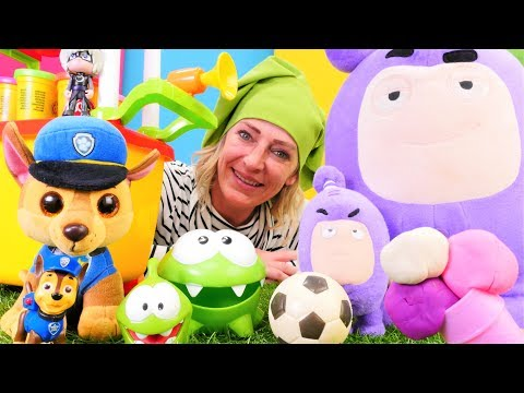 Spielzeugvideo für Kinder - Nicole verkauft Eis - Spielspaß mit OmNom und Chase
