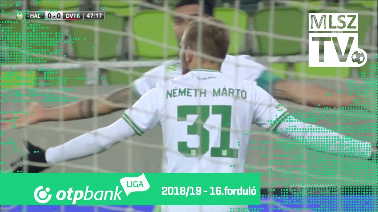 Szombathelyi Haladás – DVTK | 1-1 | (0-0) | OTP Bank Liga | 16. forduló | MLSZTV
