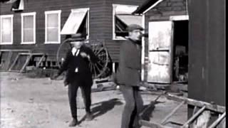 Sherlock Jr. [1924] - buster keaton leaps head first through body wtf