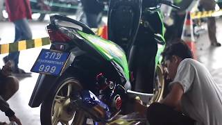 Kontes modifikasi motor at living plaza cirebon