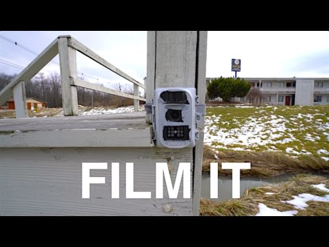 Worst Security Ever : The Trail Cam Motel