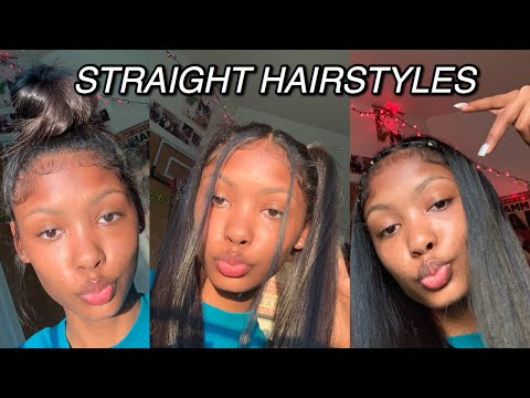5 Easy Hairstyles for Straight Hair