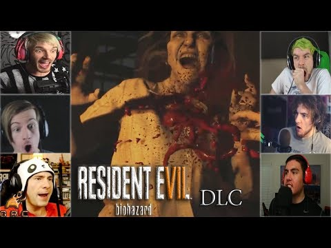 Gamers Reactions to Clancy Stabbing Marguerite (Bedroom DLC) | Resident Evil 7: Biohazard DLC