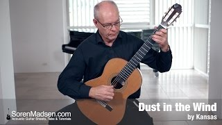 Dust In The Wind Kansas Danish Guitar Performance Soren Madsen
