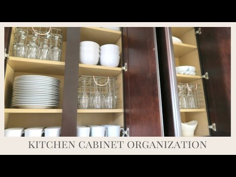 HOME ORGANIZATION TIPS | Kitchen Cabinet Organization