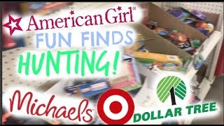 American Girl Fun Finds Hunting!