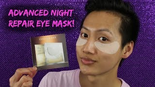 Estee Lauder Advanced Night Repair Eye Mask [REVIEW/DEMO] | HUEYYROUGE