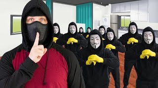😂 PRANKING PROJECT PROJECT ZORGO!? 😂 REAL HACKER REACTION! CHAD WILD CLAY CWC VY QWAINT SPY NINJAS
