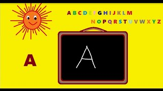 how to write alphabets a b c d in capital letters for children alphabets a to z uppercase