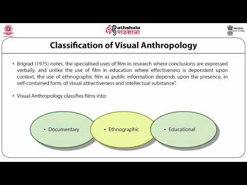 Visual anthropology (ANT)