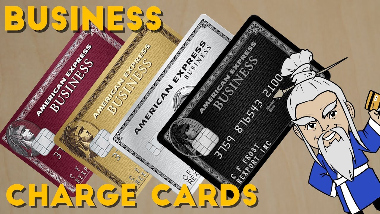 Which AMEX BUSINESS CHARGE CARD is Right For You? - YouTube