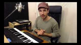 Producción musical básica: Ritmo, armonía (acordes) y melodía.