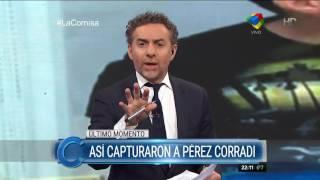 Detalle por el que cayó Pérez Corradi