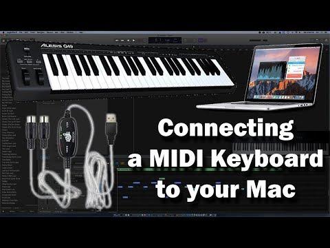 Logic Pro - Connecting a MIDI Keyboard