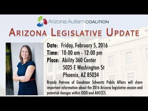 2016 Arizona Public Policy Update