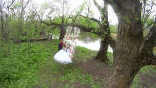 Свадебная видео съемка Кривой Рог, 25 04 2015 Руслан и Юлия прогулка
