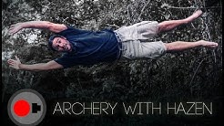 Archery Competition - Hazen Audel of 'Survive the Tribe'