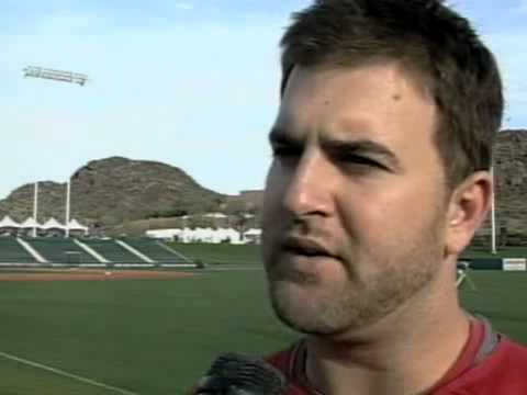 ANGELS - Mike Napoli - 2008-03-01