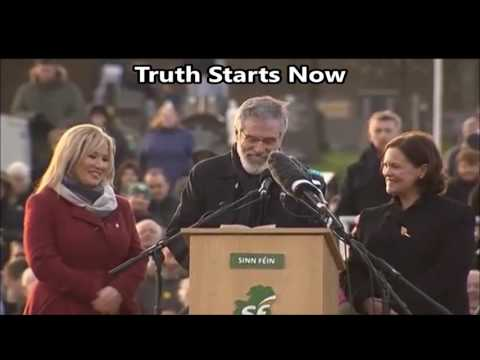Gerry Adams Full Speech at Martin McGuinness's Burial