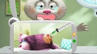 Уход за животными в лесной больнице. Детский игровой мультфильм. пятачок тв 🐽📺