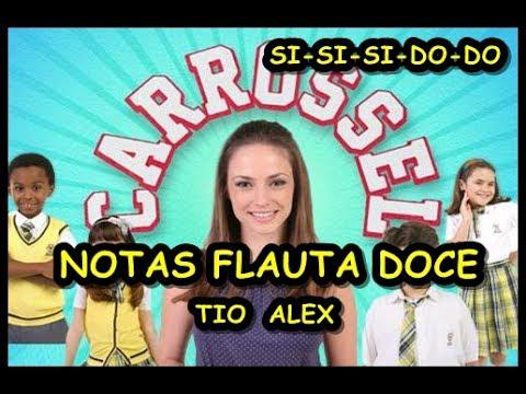 Flauta Doce Carrossel - NOTAS DA NOVELA NA FLAUTA DOCE