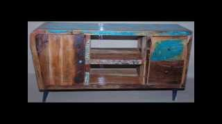 Recycled Reclaimed Wood Furniture From India