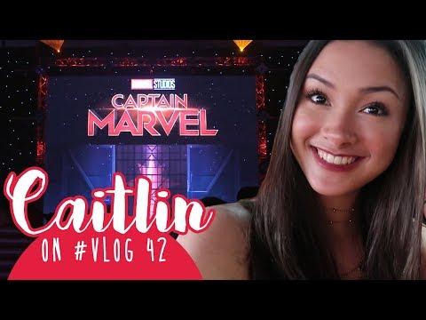"Caitlin on #VLOG 42 - Jalan di Red Carpet ""CAPTAIN MARVEL"" 😱 thumbnail"