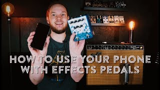 How To Use Your Phone With Effects Pedals - My 7 favorite iOS apps to use with guitar pedals