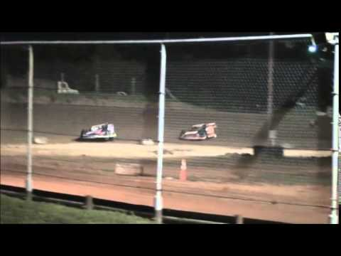 Super Late Model Heat #1 from Ohio Valley Speedway 8/9/14.