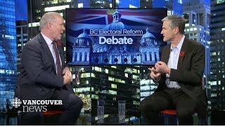 BC Electoral Reform Referendum Debate 2018 - John Horgan & Andrew Wilkinson