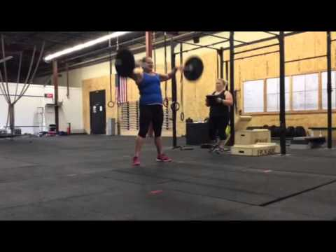 Courtney Sims 16.3 Crossfit Open